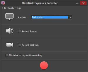 bbflashback 5 express recorder